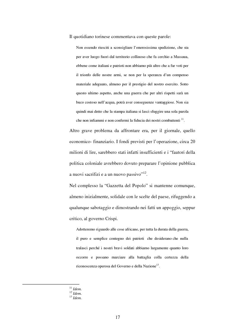 Anteprima della tesi: La Gazzetta del Popolo in età crispina, Pagina 13