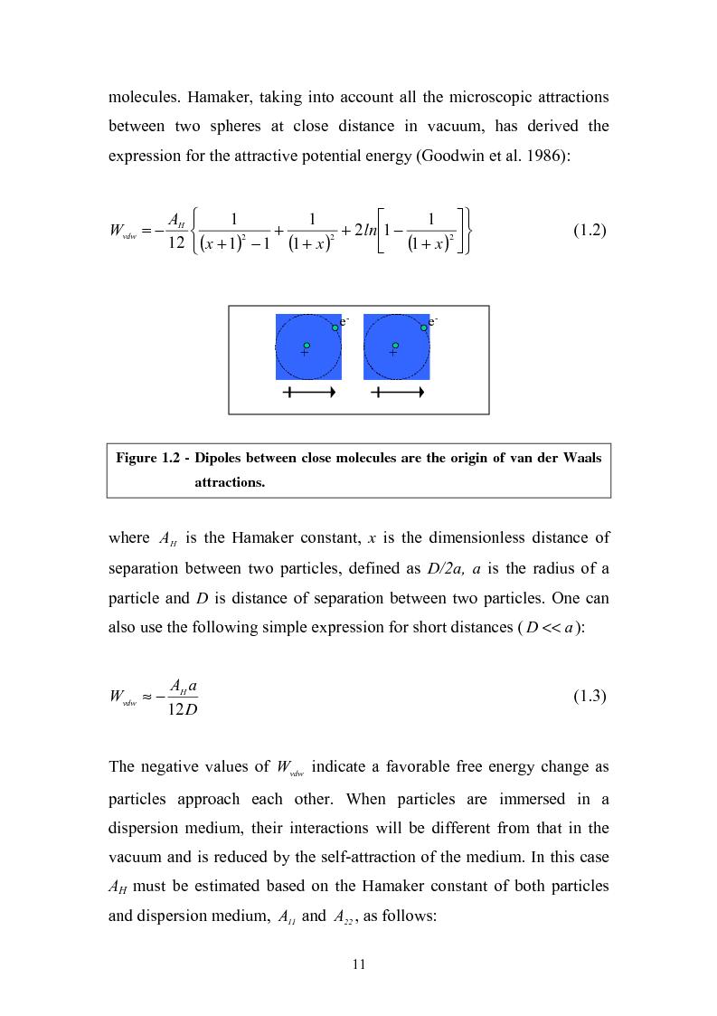 Anteprima della tesi: Gelation of polymer colloids in a mechnically agitated column, Pagina 9