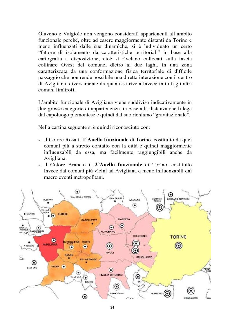 Anteprima della tesi: Il Piano Regolatore Generale di Avigliana (To). Esame della sua formazione, Pagina 11