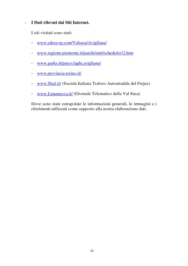 Anteprima della tesi: Il Piano Regolatore Generale di Avigliana (To). Esame della sua formazione, Pagina 3