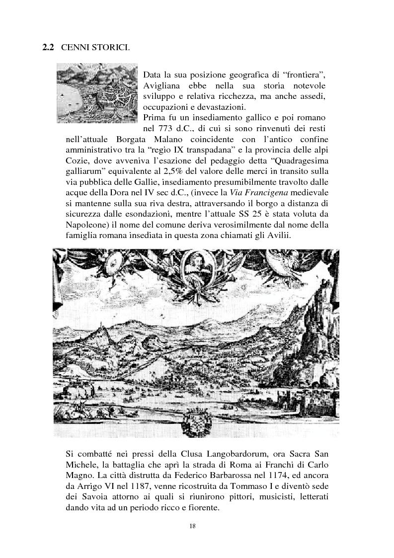 Anteprima della tesi: Il Piano Regolatore Generale di Avigliana (To). Esame della sua formazione, Pagina 5