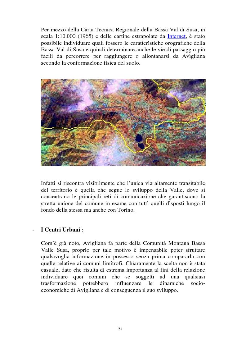 Anteprima della tesi: Il Piano Regolatore Generale di Avigliana (To). Esame della sua formazione, Pagina 8