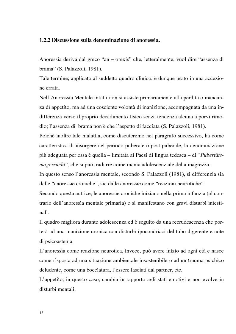 Anteprima della tesi: I disturbi dell'alimentazione in adolescenza, Pagina 13