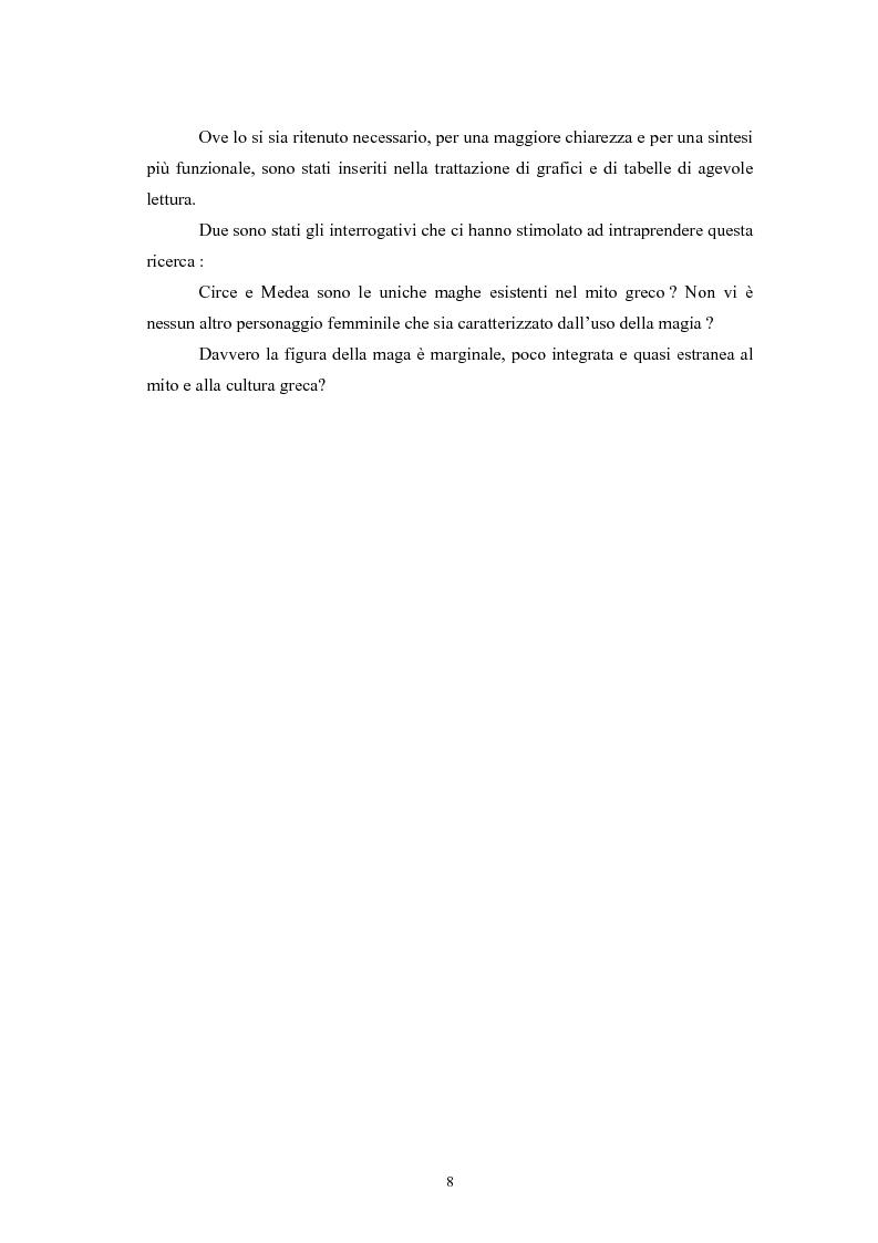 Anteprima della tesi: La figura della maga nel mito greco, Pagina 4