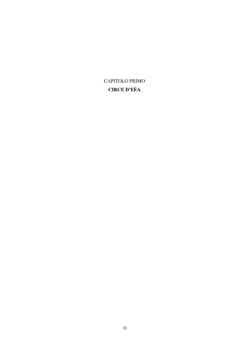 Anteprima della tesi: La figura della maga nel mito greco, Pagina 6