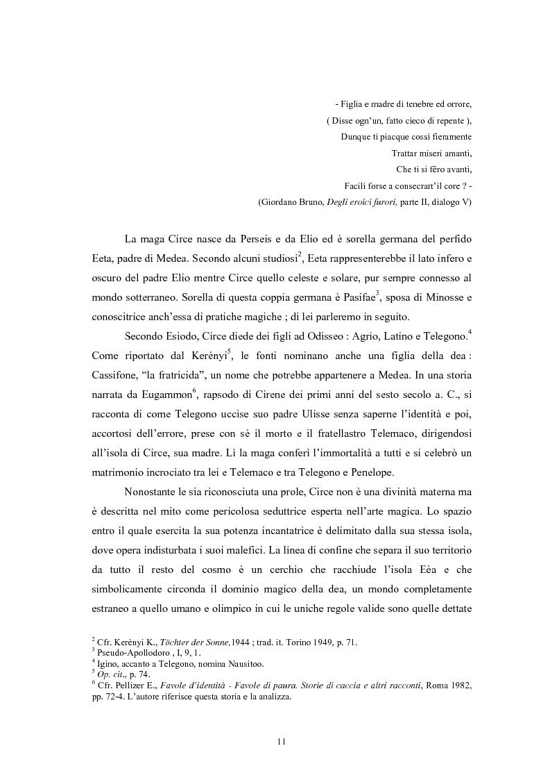 Anteprima della tesi: La figura della maga nel mito greco, Pagina 7