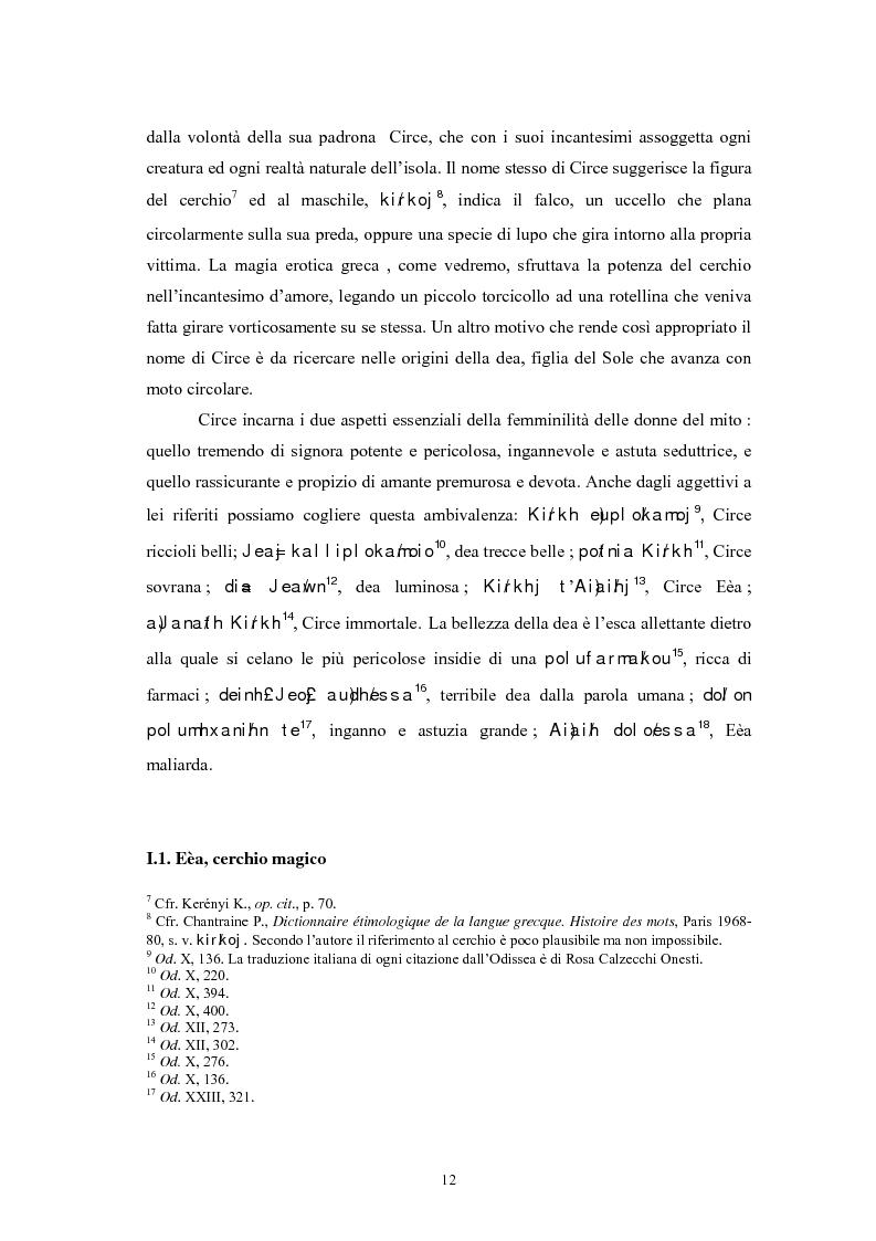 Anteprima della tesi: La figura della maga nel mito greco, Pagina 8