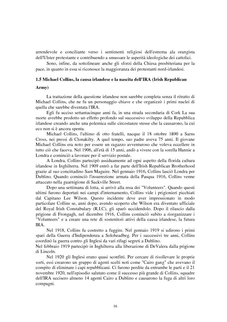 Anteprima della tesi: La questione irlandese sui quotidiani inglesi degli ultimi vent'anni, Pagina 12