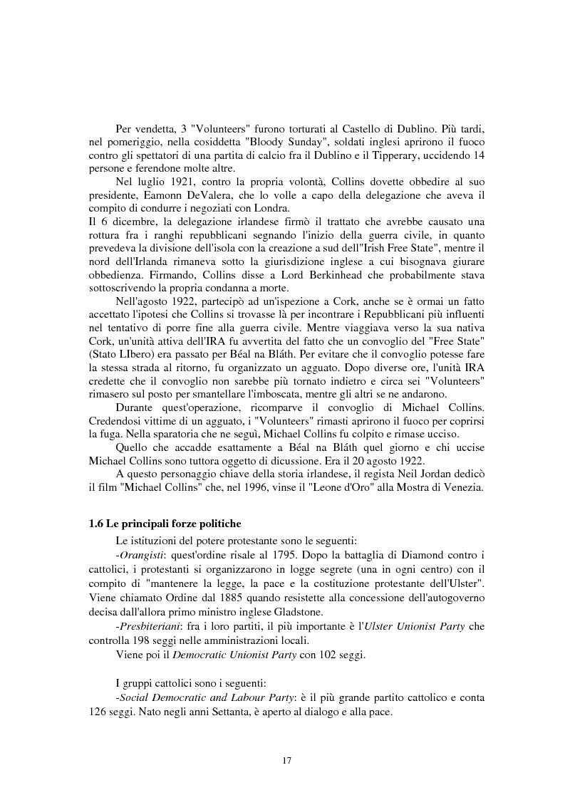 Anteprima della tesi: La questione irlandese sui quotidiani inglesi degli ultimi vent'anni, Pagina 13