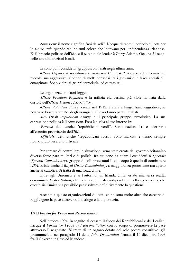 Anteprima della tesi: La questione irlandese sui quotidiani inglesi degli ultimi vent'anni, Pagina 14