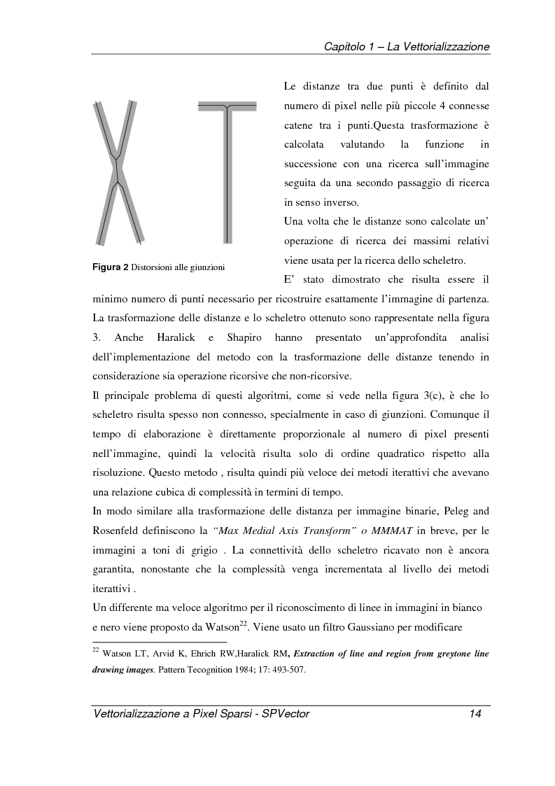 Anteprima della tesi: Applicazione per la vettorializzazione di immagini a pixel sparsi: SPVector, Pagina 11