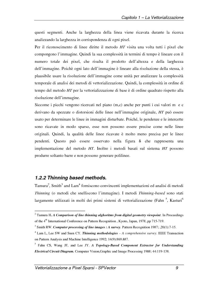 Anteprima della tesi: Applicazione per la vettorializzazione di immagini a pixel sparsi: SPVector, Pagina 6