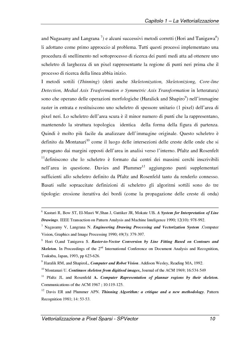Anteprima della tesi: Applicazione per la vettorializzazione di immagini a pixel sparsi: SPVector, Pagina 7