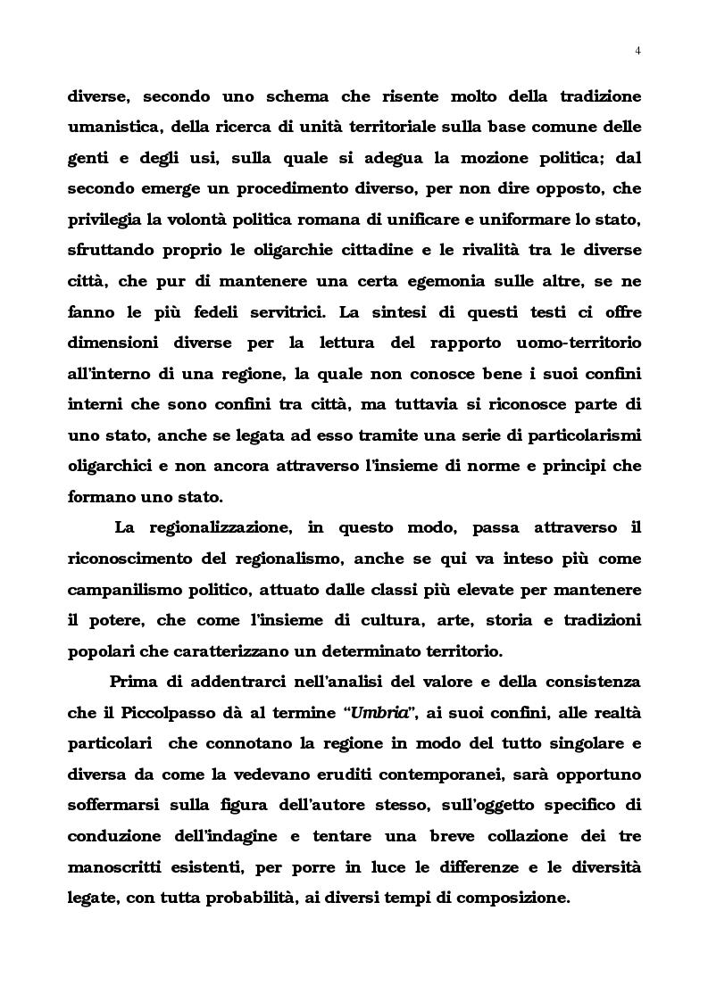 Anteprima della tesi: L'Umbria di Cipriano Piccolpasso, Pagina 2