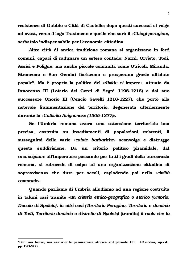 Anteprima della tesi: L'Umbria di Cipriano Piccolpasso, Pagina 5