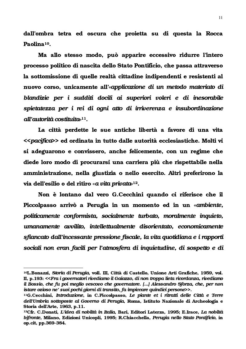 Anteprima della tesi: L'Umbria di Cipriano Piccolpasso, Pagina 9