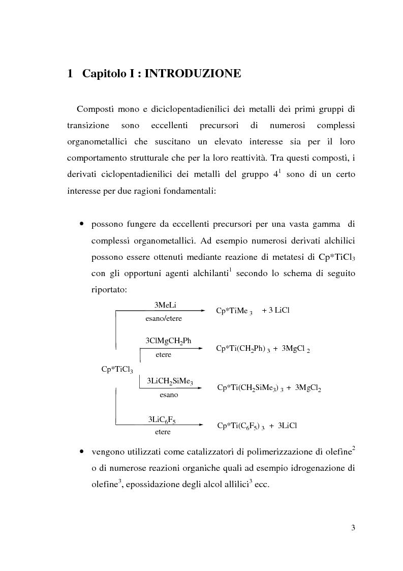 Anteprima della tesi: Copolimerizzazione stirene-butadiene catalizzata da complessi monociclopentadienilici di Ti(IV), Pagina 1