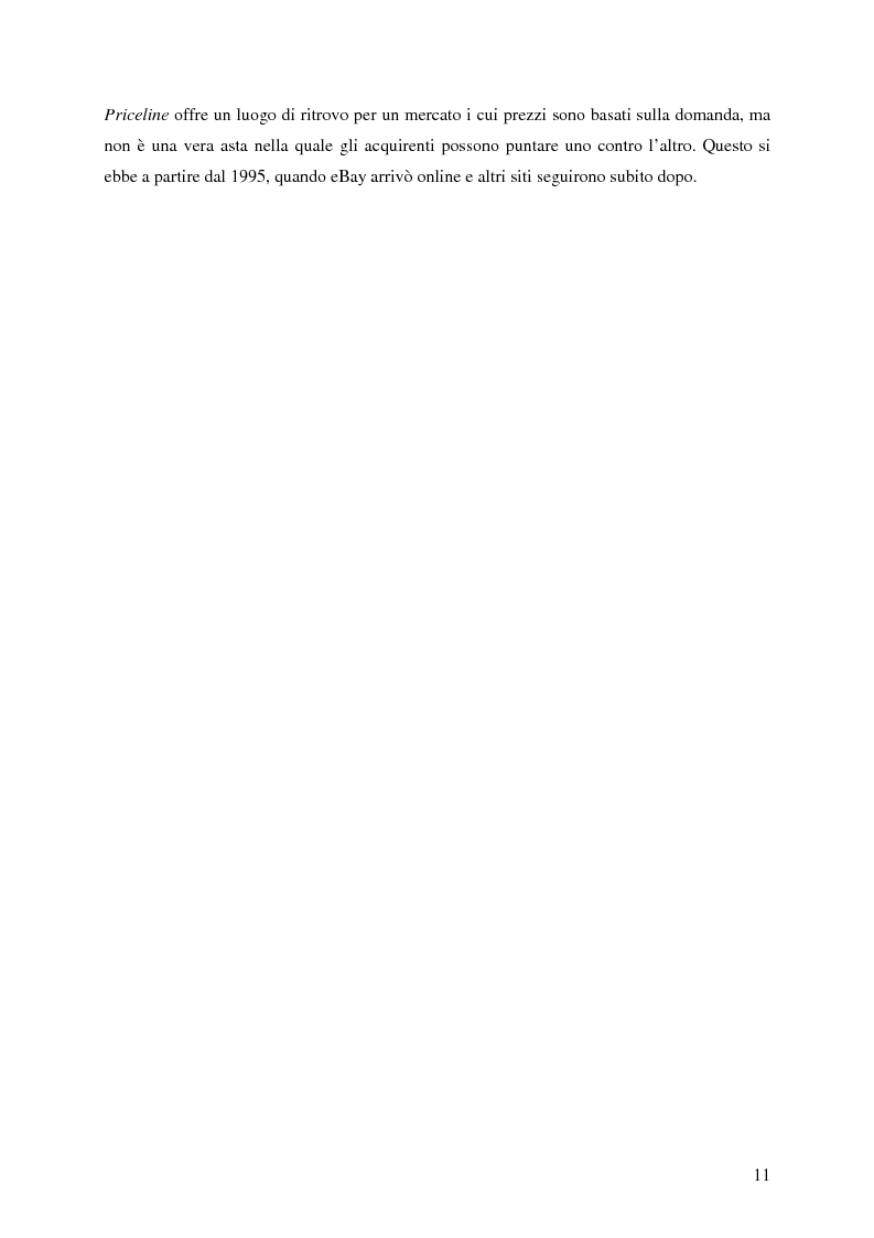 Anteprima della tesi: Profitti e Internet: il caso eBay, Pagina 10
