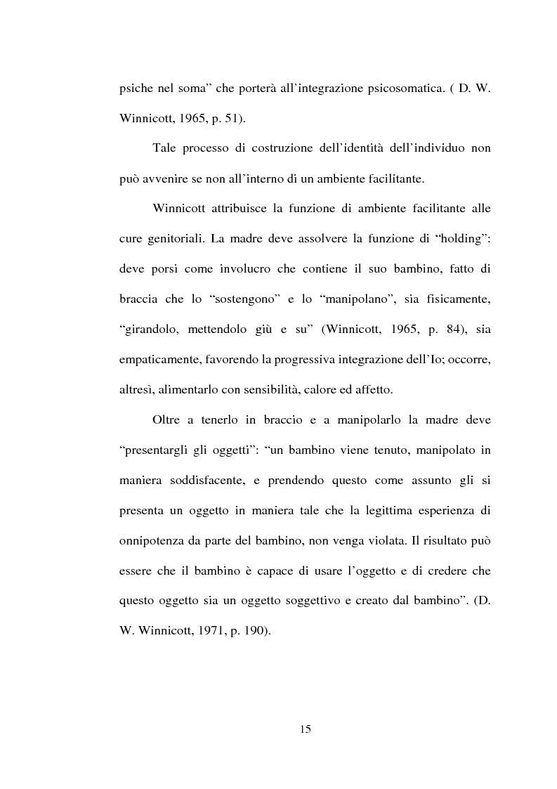 Anteprima della tesi: La dinamica mente-corpo in gravidanza. Un'indagine empirica su un gruppo di gestanti attraverso il test di Rorschach, Pagina 15