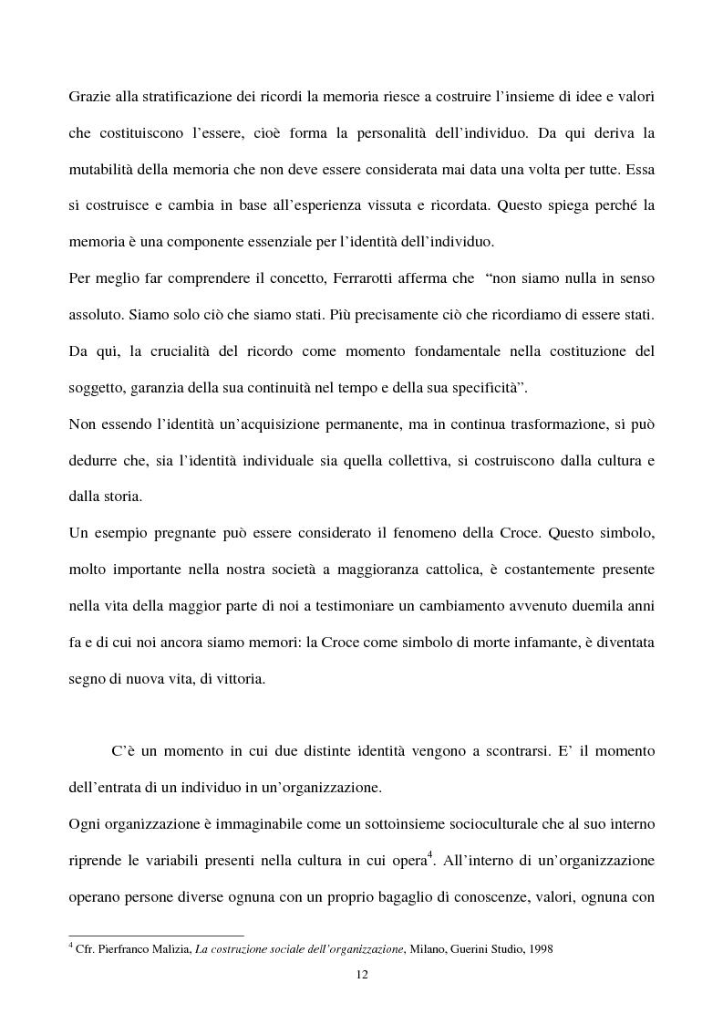 Anteprima della tesi: La gestione strategica della corporate identity, Pagina 7