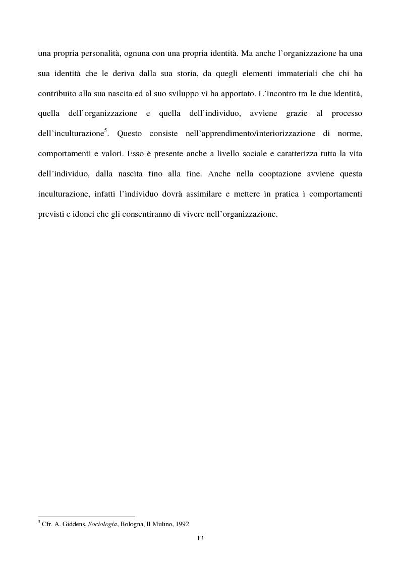 Anteprima della tesi: La gestione strategica della corporate identity, Pagina 8