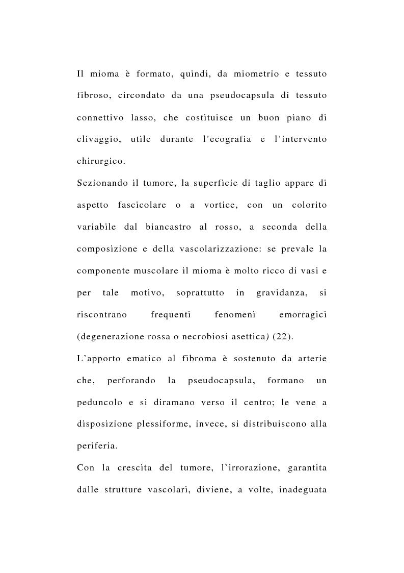 Anteprima della tesi: Risultati morfologici, funzionali e soggettivi degli interventi conservativi dell'utero, Pagina 2