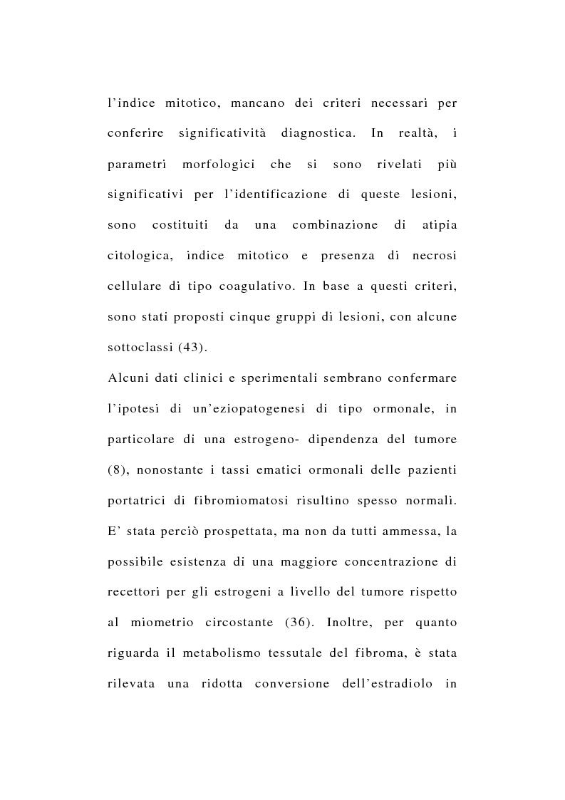 Anteprima della tesi: Risultati morfologici, funzionali e soggettivi degli interventi conservativi dell'utero, Pagina 5