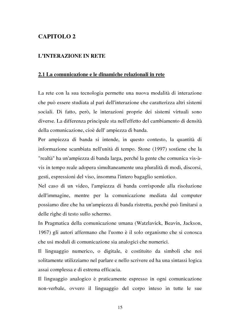 Anteprima della tesi: Internet come strumento e risorsa per lo psicologo clinico, Pagina 11