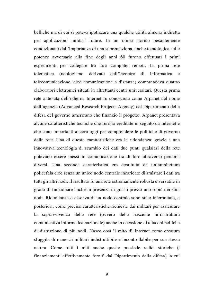 Anteprima della tesi: Internet come strumento e risorsa per lo psicologo clinico, Pagina 5