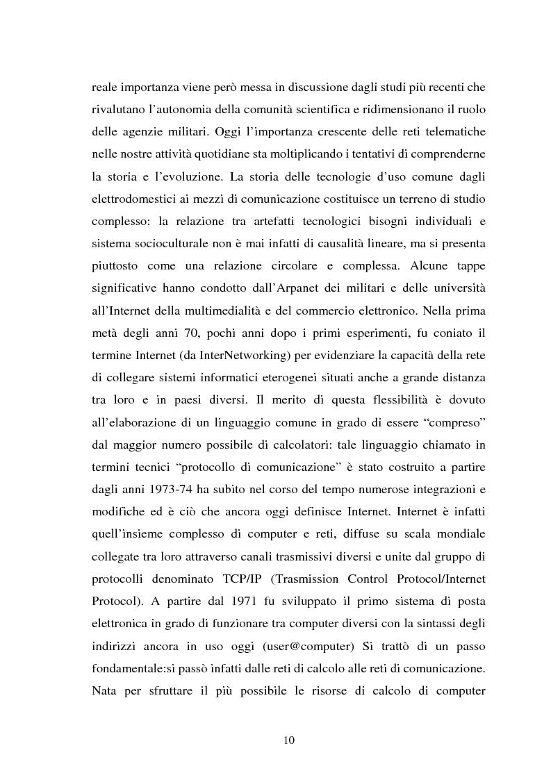 Anteprima della tesi: Internet come strumento e risorsa per lo psicologo clinico, Pagina 6