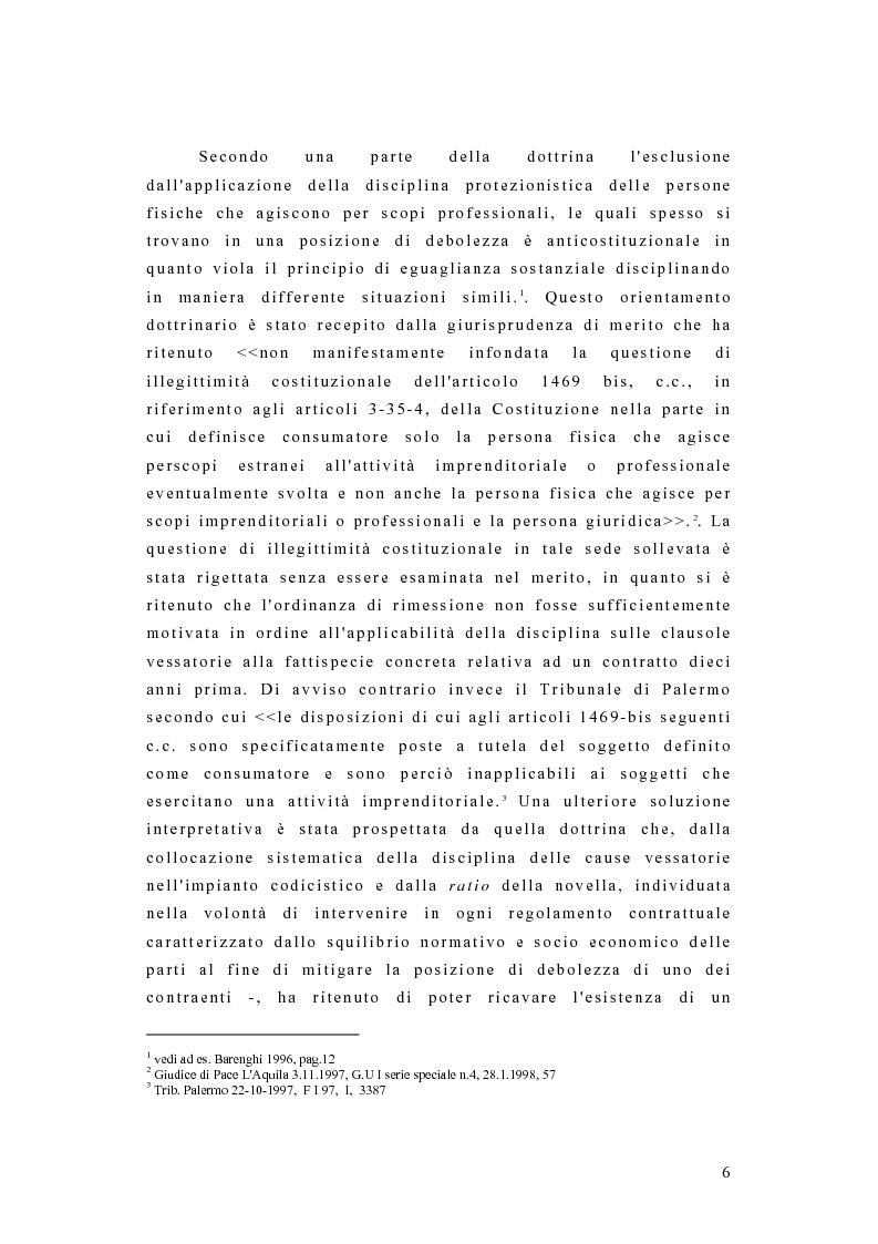 Anteprima della tesi: I contratti dei consumatori, Pagina 3