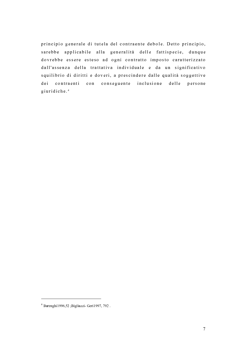 Anteprima della tesi: I contratti dei consumatori, Pagina 4