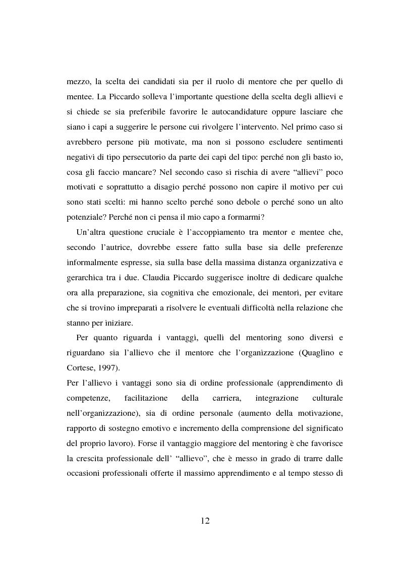 Anteprima della tesi: Counseling e coaching per la formazione dei manager: l'esperienza di Bayer, Pagina 10