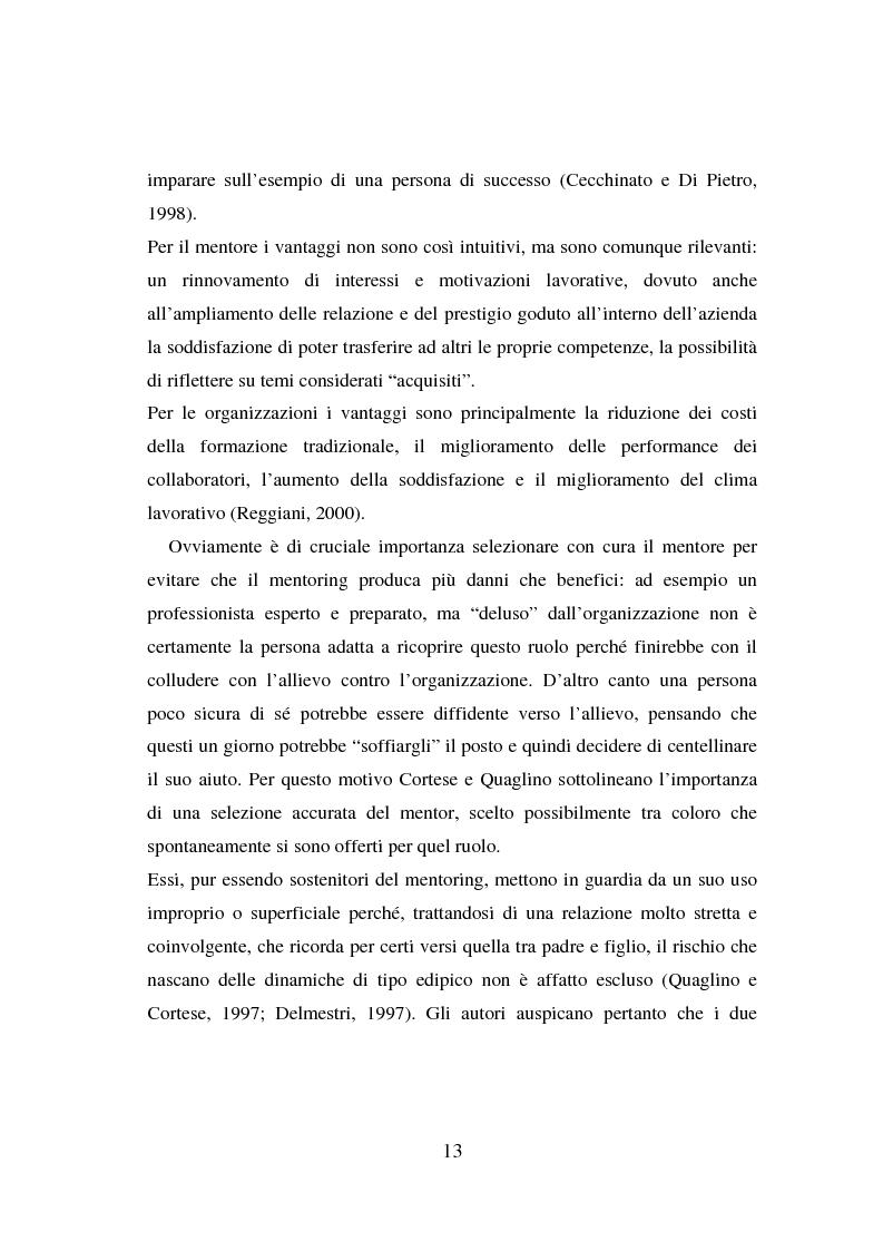 Anteprima della tesi: Counseling e coaching per la formazione dei manager: l'esperienza di Bayer, Pagina 11