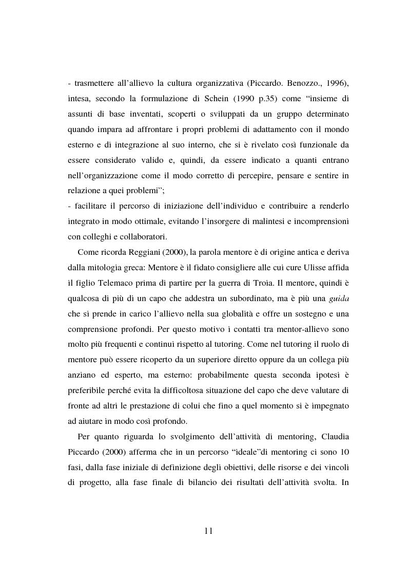 Anteprima della tesi: Counseling e coaching per la formazione dei manager: l'esperienza di Bayer, Pagina 9