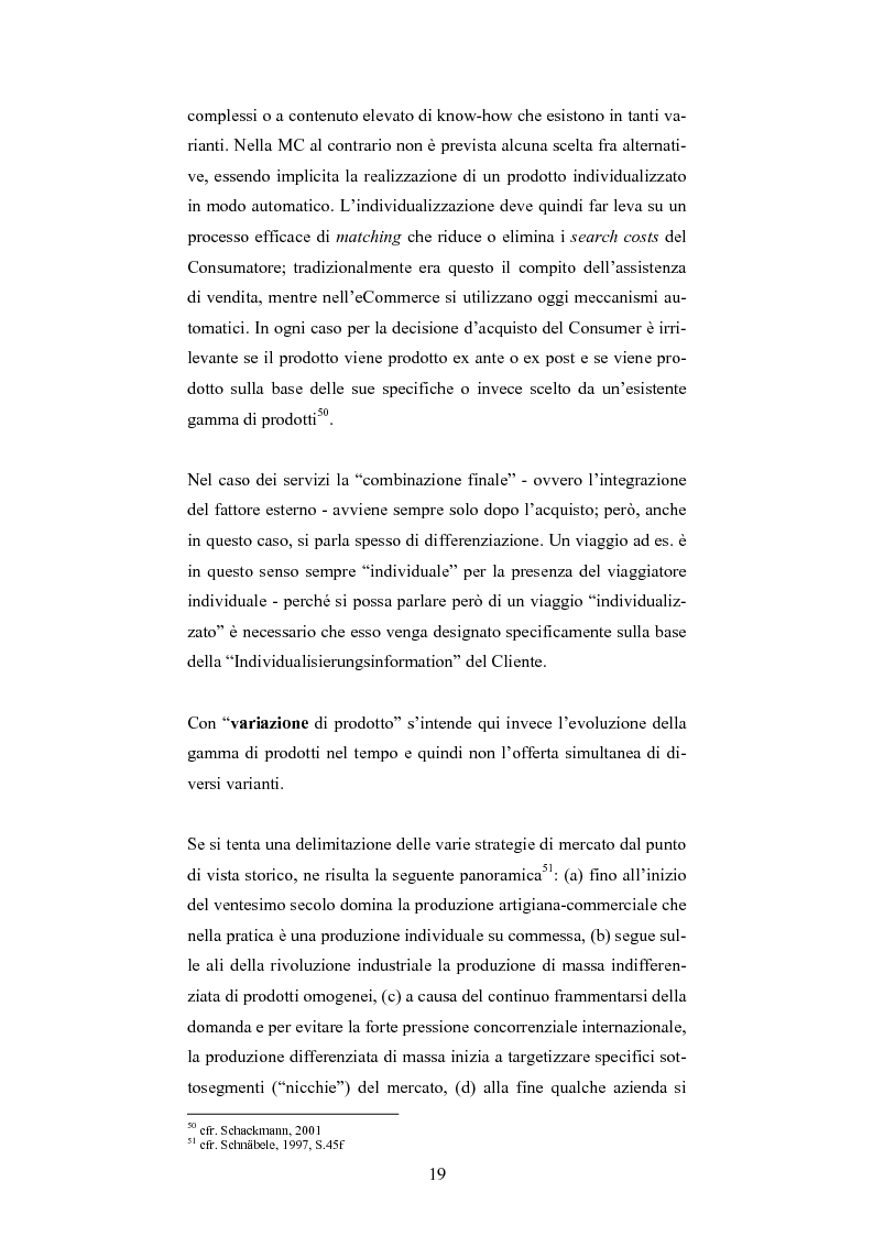 Anteprima della tesi: The One-Customer-Segment: la personalizzazione come fattore critico di successo dei servizi su Internet, Pagina 11