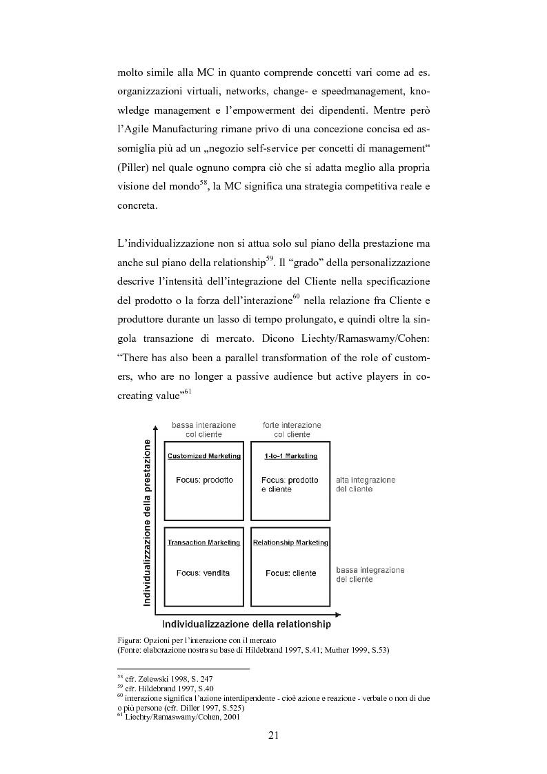 Anteprima della tesi: The One-Customer-Segment: la personalizzazione come fattore critico di successo dei servizi su Internet, Pagina 13