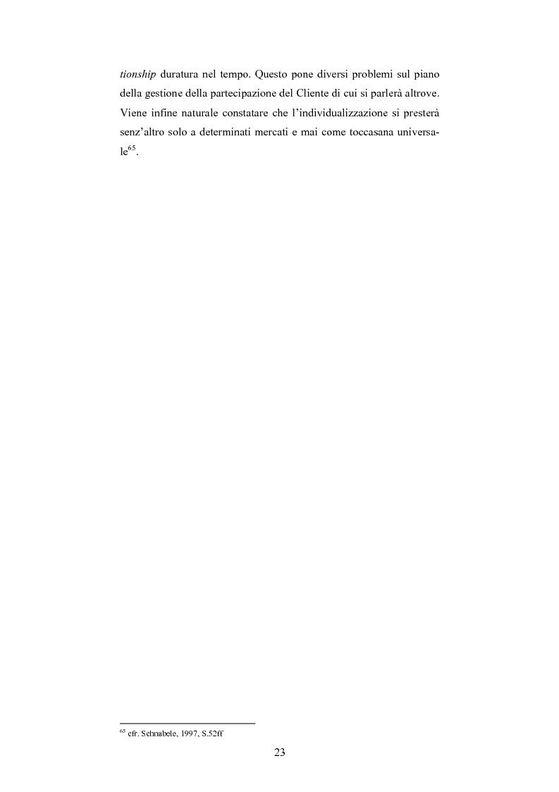Anteprima della tesi: The One-Customer-Segment: la personalizzazione come fattore critico di successo dei servizi su Internet, Pagina 15