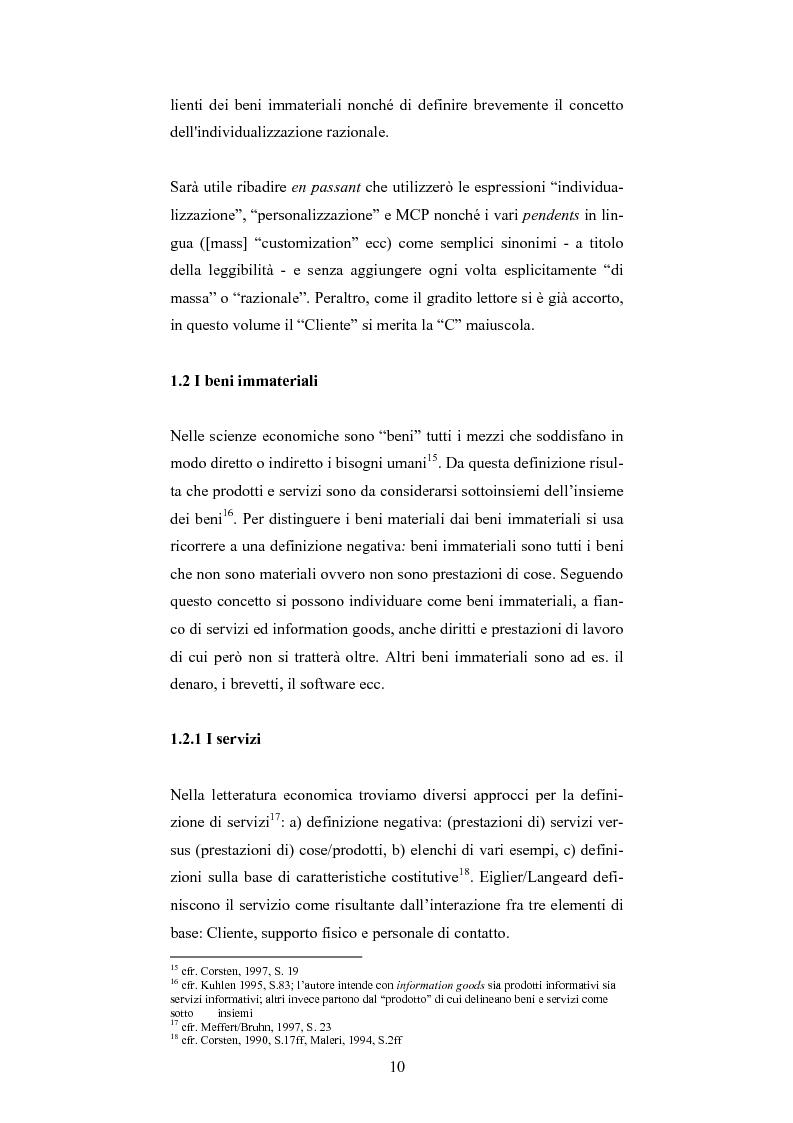 Anteprima della tesi: The One-Customer-Segment: la personalizzazione come fattore critico di successo dei servizi su Internet, Pagina 2