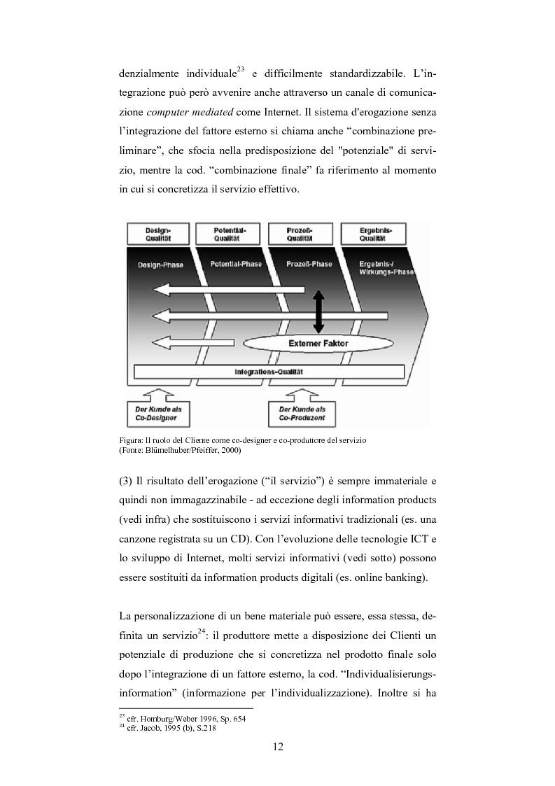 Anteprima della tesi: The One-Customer-Segment: la personalizzazione come fattore critico di successo dei servizi su Internet, Pagina 4