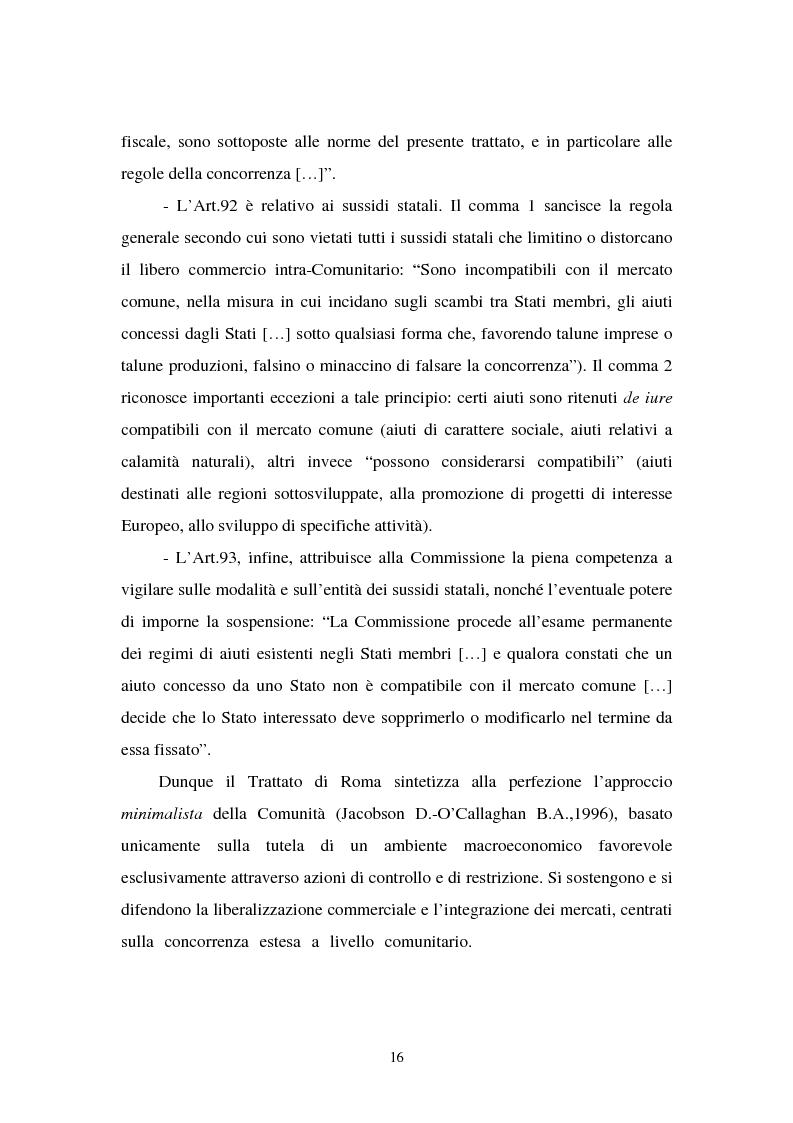 Anteprima della tesi: Le politiche industriali della Comunità Europea - Il settore tessile, Pagina 12