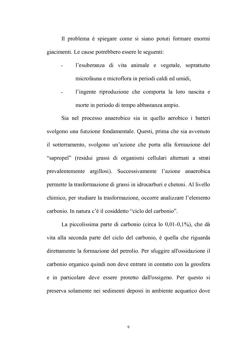 Anteprima della tesi: La merce petrolio, le fluttuazioni di prezzo e operazioni di hedging, Pagina 8