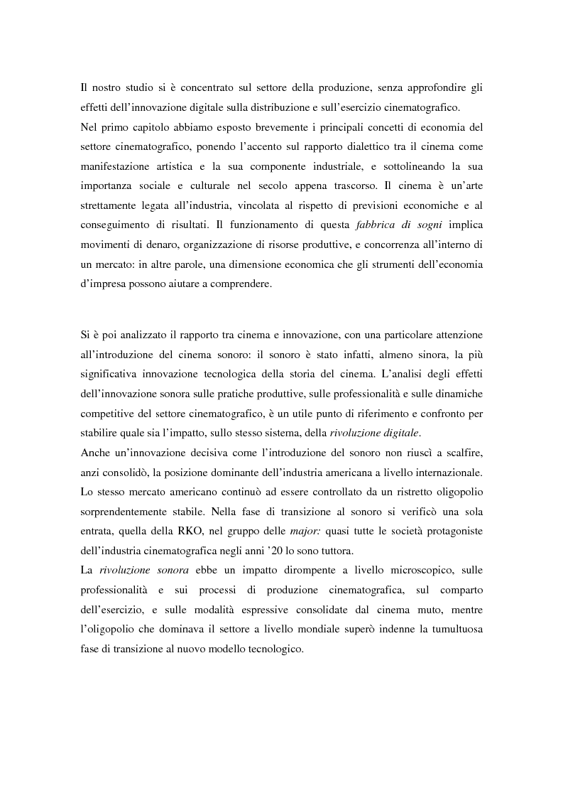 Anteprima della tesi: Hollywood 2.0: la produzione cinematografica nell'era digitale, Pagina 4