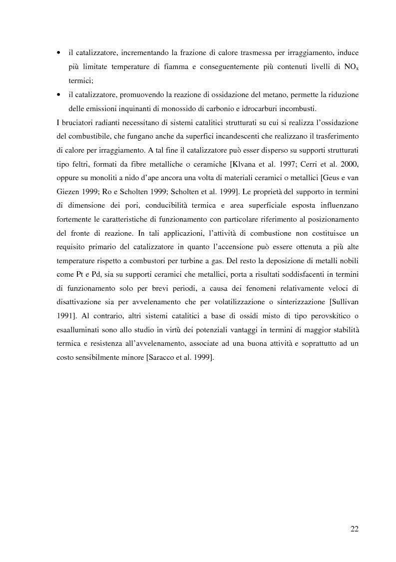 Anteprima della tesi: Combustione catalitica su sistemi perovskitici strutturati, Pagina 5