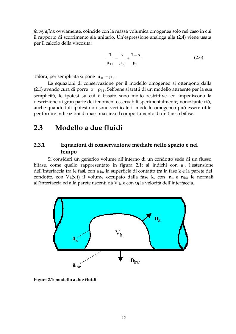Anteprima della tesi: Indagine sperimentale del flusso bifase acqua-aria in regime intermittente entro condotti orizzontali, Pagina 14