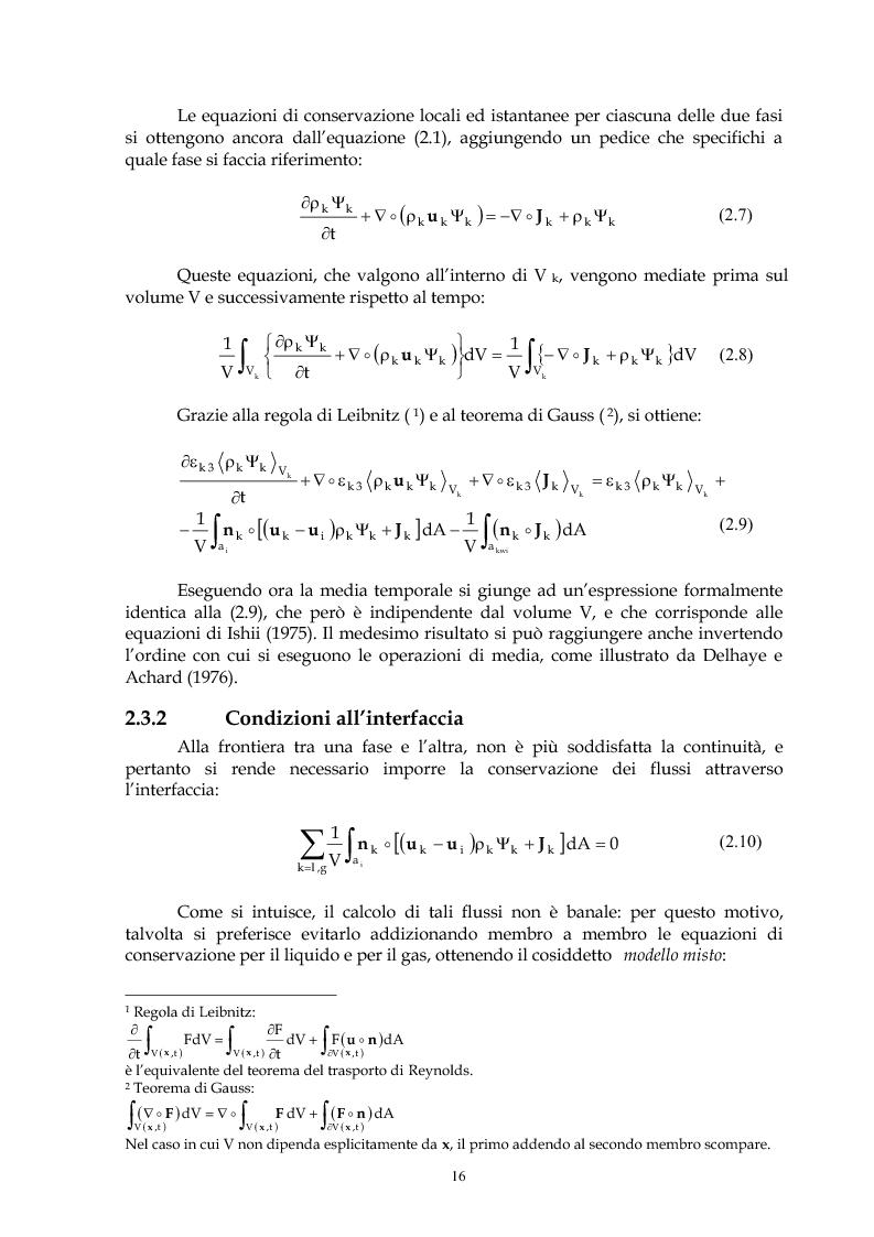 Anteprima della tesi: Indagine sperimentale del flusso bifase acqua-aria in regime intermittente entro condotti orizzontali, Pagina 15