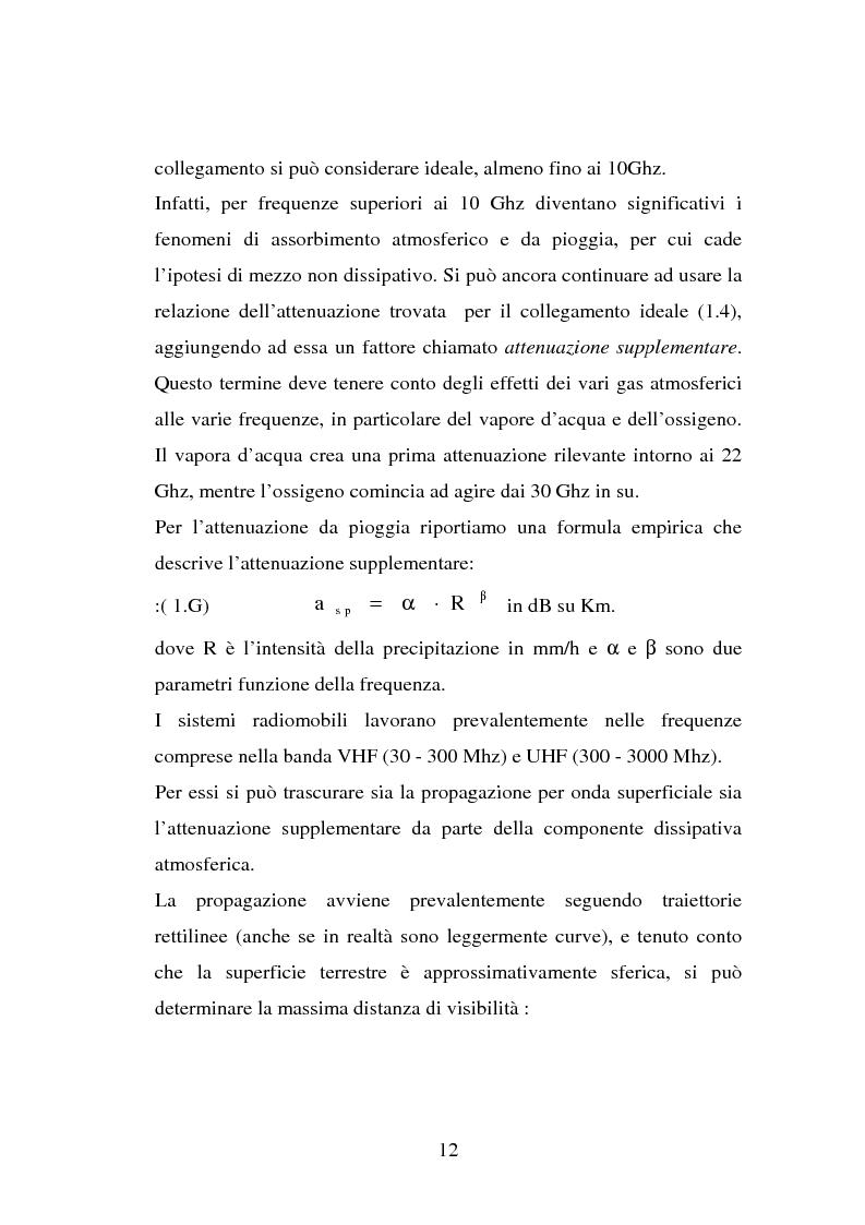 Anteprima della tesi: Sviluppo ed implementazione software di metodi UTD ray-tracing di previsione di propagazione elettromagnetica nel campo della telefonia cellulare in ambiente urbano, Pagina 11