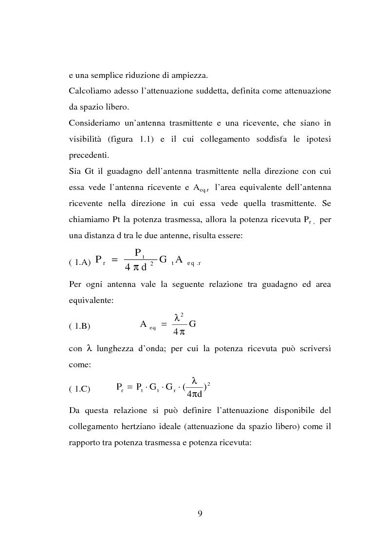 Anteprima della tesi: Sviluppo ed implementazione software di metodi UTD ray-tracing di previsione di propagazione elettromagnetica nel campo della telefonia cellulare in ambiente urbano, Pagina 8