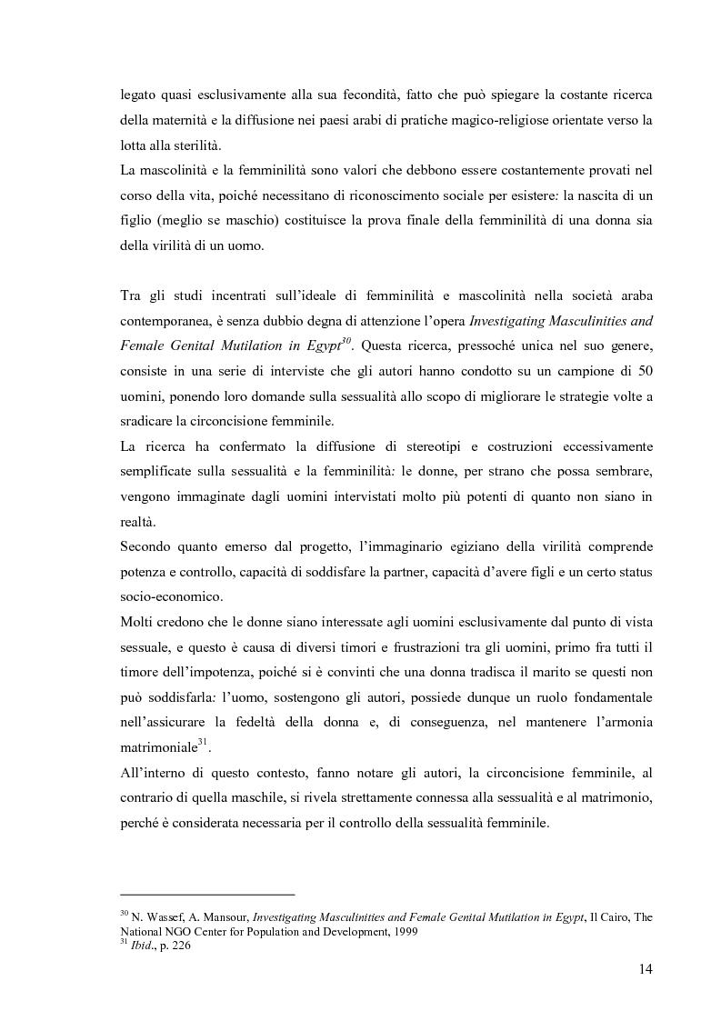 Anteprima della tesi: Hiv e Aids in Egitto: materiali per la prevenzione. Un approccio culturale, Pagina 14