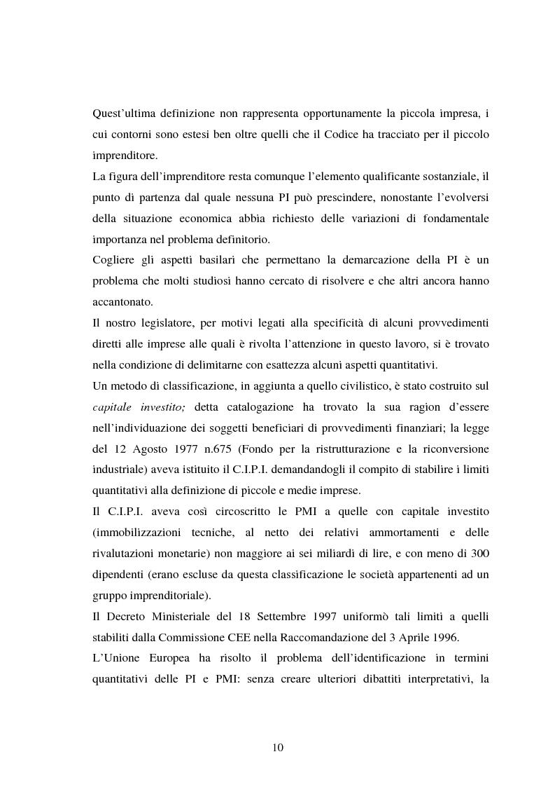Anteprima della tesi: Piccole imprese e competitività: il ruolo dei parchi scientifici e tecnologici, Pagina 6